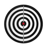 Shooting range target Royalty Free Stock Photos