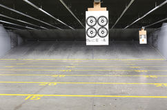 Shooting range Royalty Free Stock Image