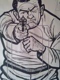 Vintage Shooting Range Target Stock Images