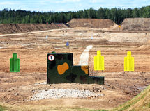 Shooting range Royalty Free Stock Photos