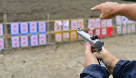Shooting range. Stock Images