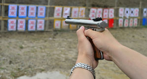 Shooting range. Royalty Free Stock Photos