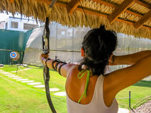 Shooting sport archery Royalty Free Stock Photos