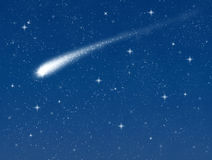 Shooting star Royalty Free Stock Photo