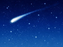 Shooting star stock illustration