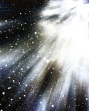 Cosmos star abstract background graphic Stock Photography