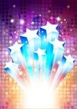 Shooting Stars. Vector illustration of shooting stars Royalty Free Stock Photography