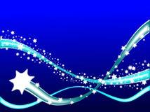 Shooting Stars Background Royalty Free Stock Photo