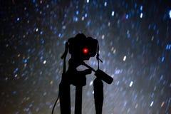 Star Gazing in the Sangre De Cristo Mountains of Colorado royalty free stock photo