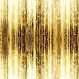 Shooting Stars del oro en fondo abstracto Fotografía de archivo libre de regalías