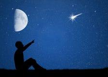 Shooting stars Royalty Free Stock Image
