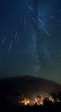 Shooting stars Royalty Free Stock Photo