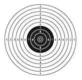 Shooting target Royalty Free Stock Photo