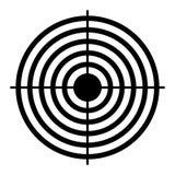 Shooting target aim Royalty Free Stock Photography