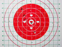 Shooting Target royalty free stock photos