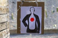 Shooting target Stock Image