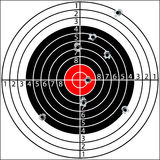 Shooting target Royalty Free Stock Photography