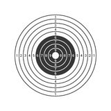 Shooting Target Icon Isolated on White Background. Vector Stock Photography