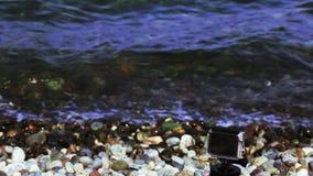 Shooting timelaps Sea stock video footage