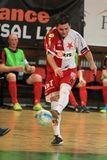 Shooting Tomas Fichtner in futsal Stock Photography