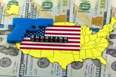 Shooting in US schools Royalty Free Stock Photos