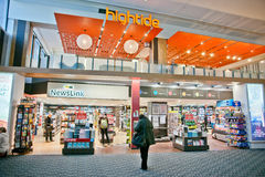 Shop in airport Royalty Free Stock Photos