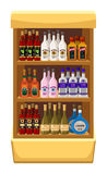 Shop alcoholic beverages. Royalty Free Stock Photos