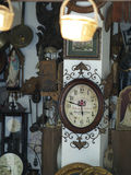 Shop for antiques. Typical antique shop in Spain Royalty Free Stock Photo