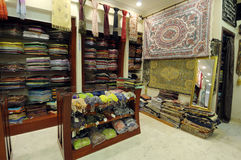 Shop with Arabic Products. Shop with Traditional Arabic Products in Dubai, United Arab Emirates Stock Photos