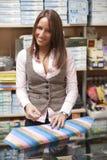 Shop assistant Stock Photos