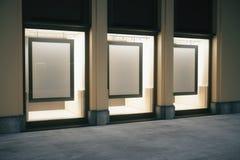 Shop außen mit Rahmen Lizenzfreies Stockbild