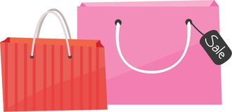 Shop Bags Royalty Free Stock Photo