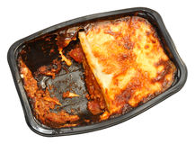 Shop Bought Beef Lasagne Stock Photo