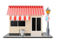 Shop building Royalty Free Stock Image