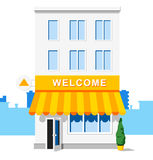 Shop building. Vector icon. Royalty Free Stock Image