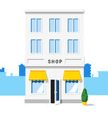 Shop building. Vector icon. Stock Photos