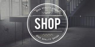 Shop Business Commerce Market Sale Retail Concept.  royalty free stock image