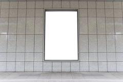 Shop-Butiken-Speicher-Front mit großem Fenster und Platz für Namen Stockfoto