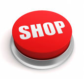 Shop button concept illustration Royalty Free Stock Photography