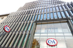 Shop C&A, on the Kurfuerstendamm. BERLIN - JULY 24: Shop C&A, on the Kurfuerstendamm. C&A is an international Dutch chain of fashion retail clothing stores, July Stock Photo