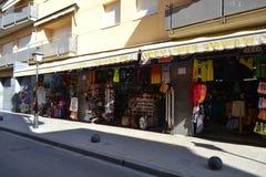 Shop in Calella. Stock Image