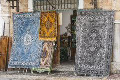 Shop of carpets Royalty Free Stock Photo