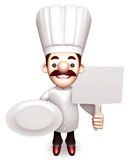 Shop the Chef to Promote, 3D Chef Character Stock Photos
