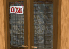 Shop closed Royalty Free Stock Image