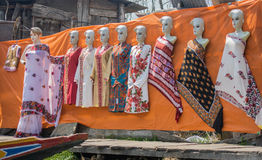 Shop in dal lake Stock Image