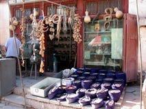 Shop des traditionellen Chinesen in Kaschgar China lizenzfreie stockfotografie