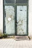 Shop door Stock Photography