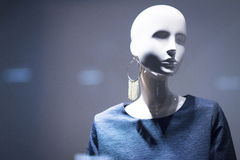 Shop dummy fashion clothes store mannequin Stock Photography