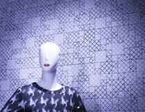 Shop dummy fashion mannequin Royalty Free Stock Image