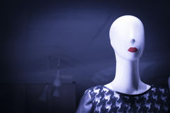 Shop dummy fashion mannequin Royalty Free Stock Photos